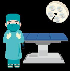 手術室のイメージ