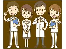 整形外科の医者イメージ